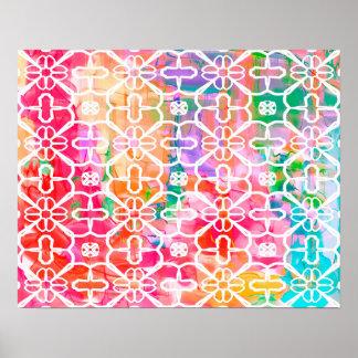 Aquarelle abstraite de couleur