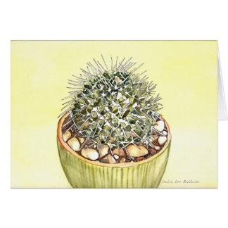 Aquarelle de cactus par Debra Lee Baldwin Carte