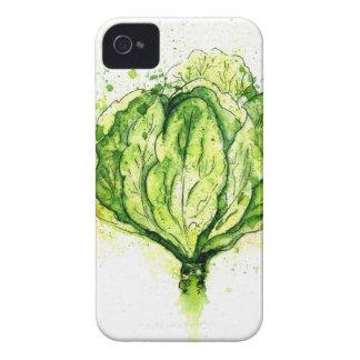 Aquarelle de chou commun coques Case-Mate iPhone 4