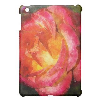 Aquarelle rose de flamber coques iPad mini