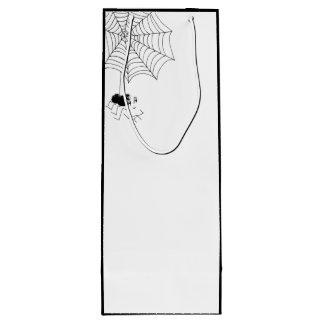 Araignée satisfaisante sac cadeau pour bouteille