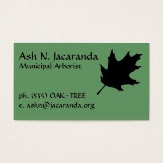 Arborist Visitekaartje Visitekaartjes