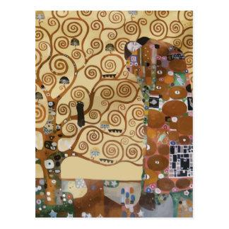 Arbre de Gustav Klimt de la vie Carte Postale