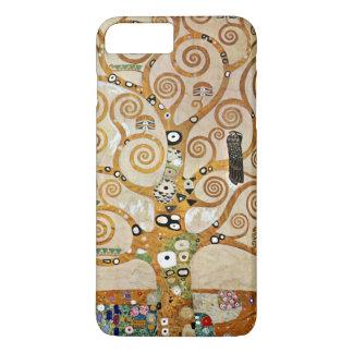 Arbre de Gustav Klimt de la vie d'or avec l'oiseau Coque iPhone 8 Plus/7 Plus