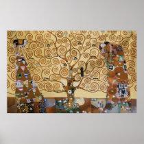 Arbre de Gustav Klimt de la vie Poster