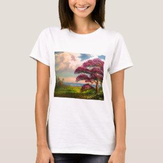 Arbre de Jacaranda coloré T-shirt
