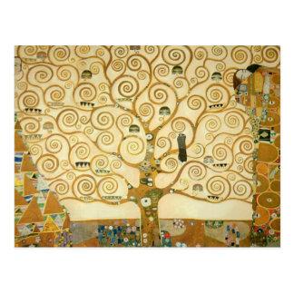 Arbre de la vie par Gustav Klimt Cartes Postales
