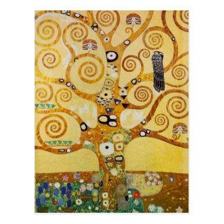 Arbre de la vie par Klimt Cartes Postales