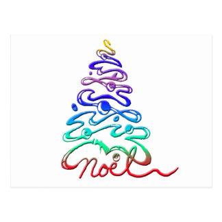 Arbre de Noël de Noel Cartes Postales