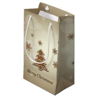 Arbre de Noël de pain d'épice - petit sac de