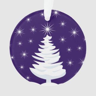 Arbre de Noël et ornement de cercle d'étoile,
