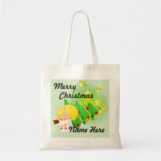 Arbre de Noël et sac fourre-tout à étoiles