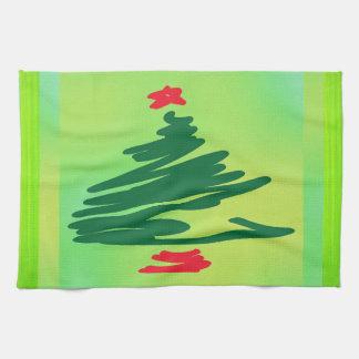 Arbre de Noël Linges De Cuisine