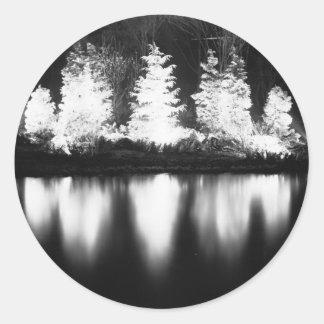 Arbre noir autocollants stickers - Image de noel en noir et blanc ...