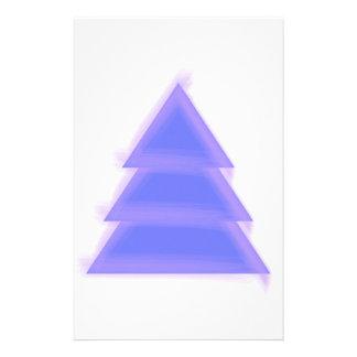 Arbre de Noël pourpre {} Papeterie