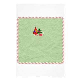 Arbre de Noël stationnaire de vacances vertes de Papeterie