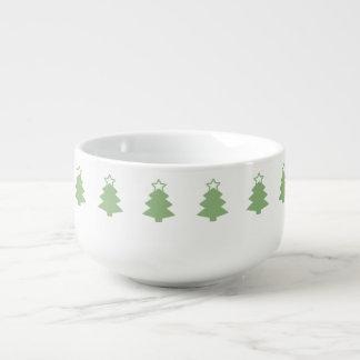 Arbre de Noël - tasse de soupe