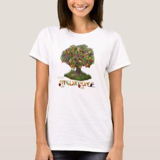 Arbre de T-shirt d'art d'abondance