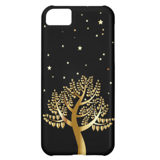Arbre d'or coque iPhone 5C