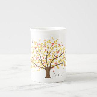 Arbre d'or d'automne mug