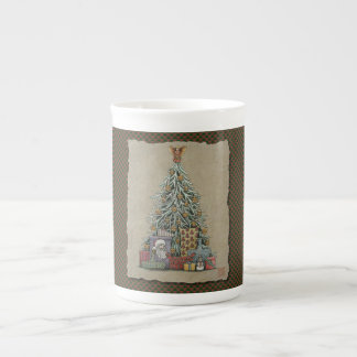 Arbre et présents de Noël Mug