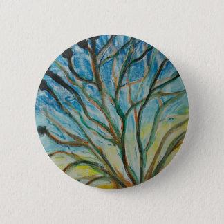 Arbre généalogique badge rond 5 cm