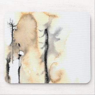 Arbres 1 de fantôme tapis de souris