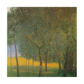 Arbres fruitiers par Gustav Klimt, art vintage