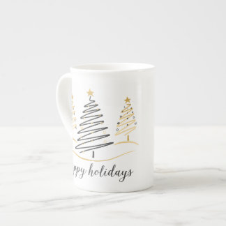 Arbres modernes de vacances de tendances mug