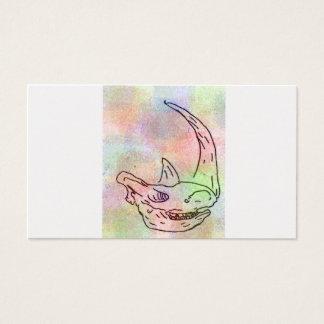 Arc-en-ciel de couleur pour aquarelle de carte de visite standard