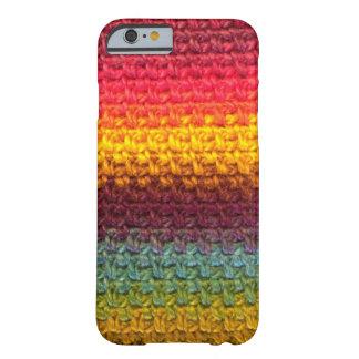 Arc-en-ciel de crochet coque iPhone 6 barely there