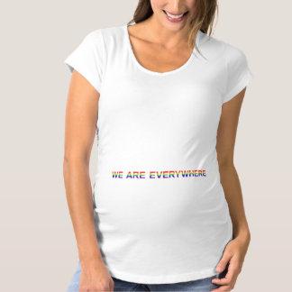 Arc-en-ciel - T-shirt de maternité