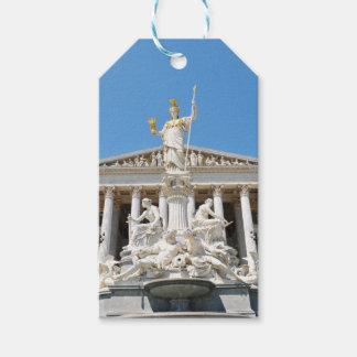 Architecture à Vienne, Autriche Étiquettes-cadeau