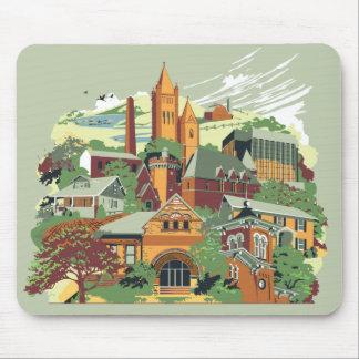Architecture Mousepad de Jamestown Tapis De Souris