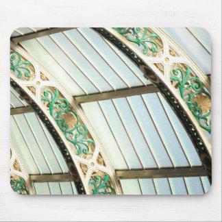Architecture vintage abstraite tapis de souris