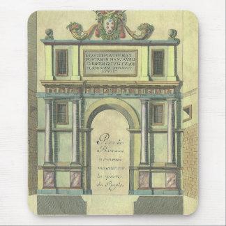 Architecture vintage de la Renaissance d'entrée de Tapis De Souris