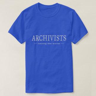 Archivistes - sauvetage du monde t-shirt