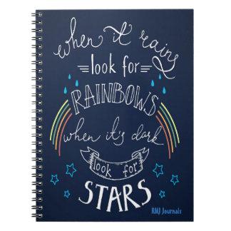 Arcs-en-ciel et étoiles - journal EN SPIRALE
