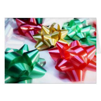 Arcs italiens de Noël Carte