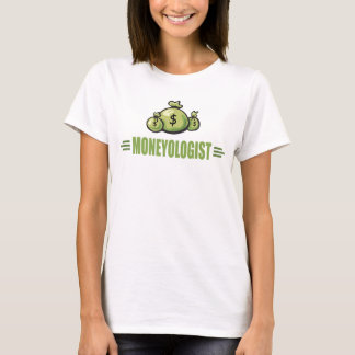 Argent humoristique t-shirt