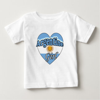 Argentine Girl Baby T Shirts