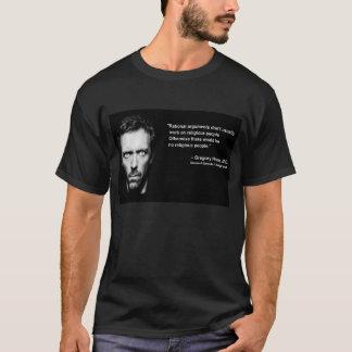 Arguments rationnels et personnes religieuses t-shirt