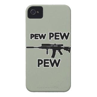 Arme à feu de banc de banc coques iPhone 4