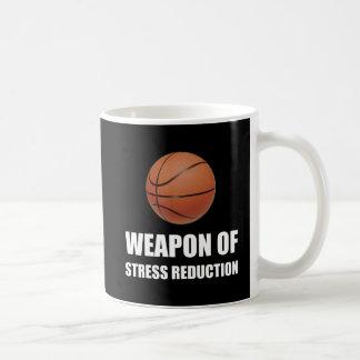Arme de basket-ball de réduction du stress mug