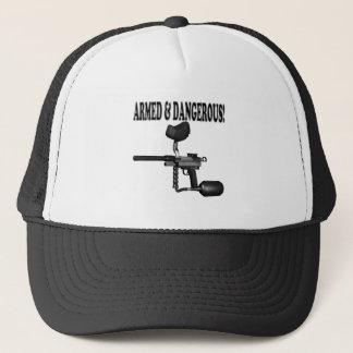 Armé et dangereux casquette