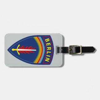 Armée - brigade de l'Europe - de Berlin Étiquette À Bagage