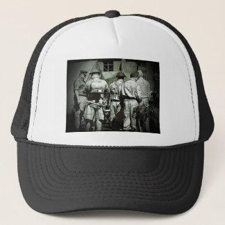 Armée de papas sur le défilé casquette