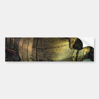 Armure de chevalier médiéval autocollant de voiture