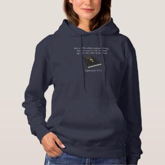 Armure du sweat - shirt à capuche w/Bible des