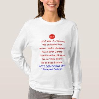 ARRÊTEZ la guerre de GOP sur le T-shirt longtemps